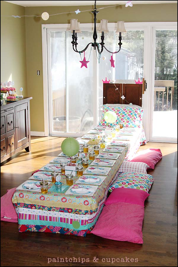 Best Princess and the Pea tablecloth